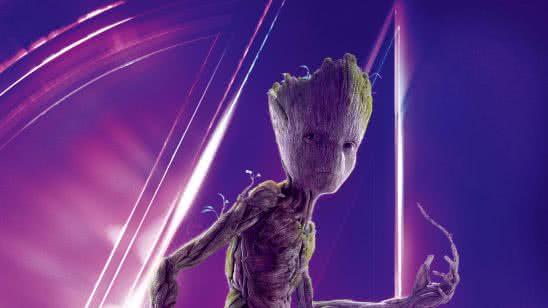 avengers infinity war groot uhd 8k wallpaper