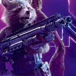 Avengers Infinity War Rocket Raccoon