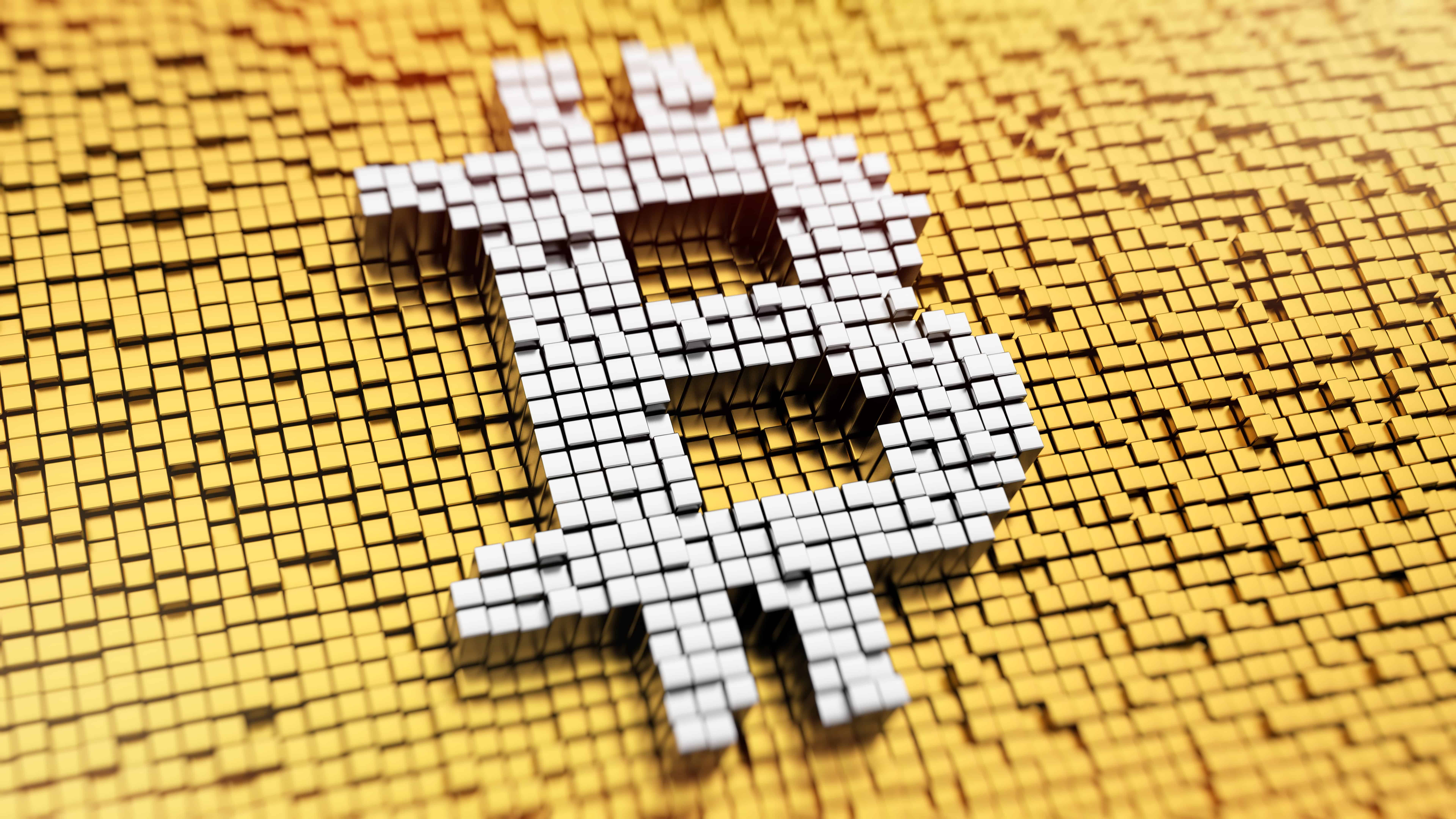 bitcoin logo uhd 8k wallpaper