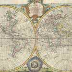 british vintage world map a new and accurate map of all the known world uhd 4k wallpaper