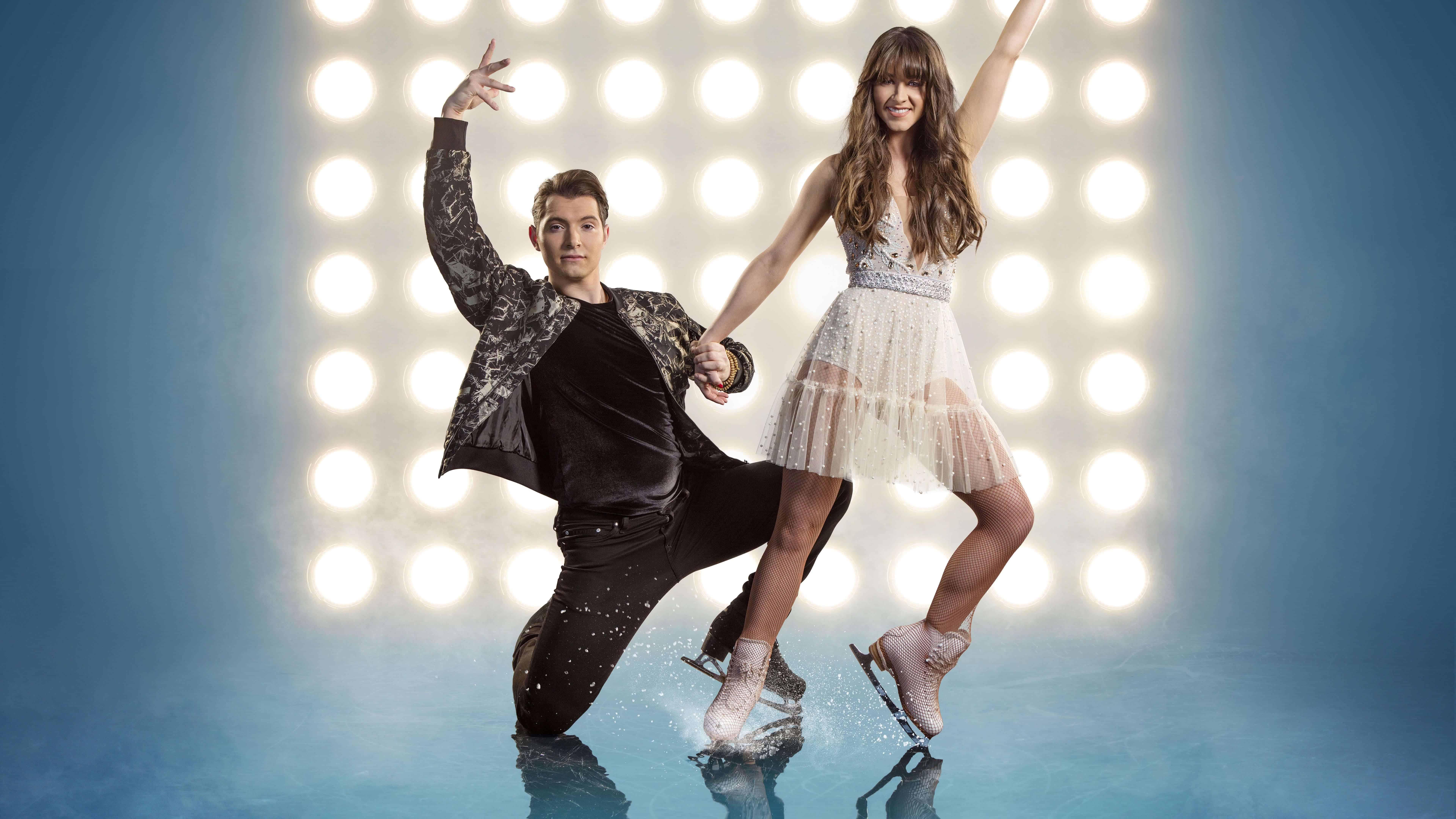 dancing on ice brooke vincent matej silecky uhd 8k wallpaper