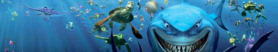 finding nemo triple monitor wallpaper