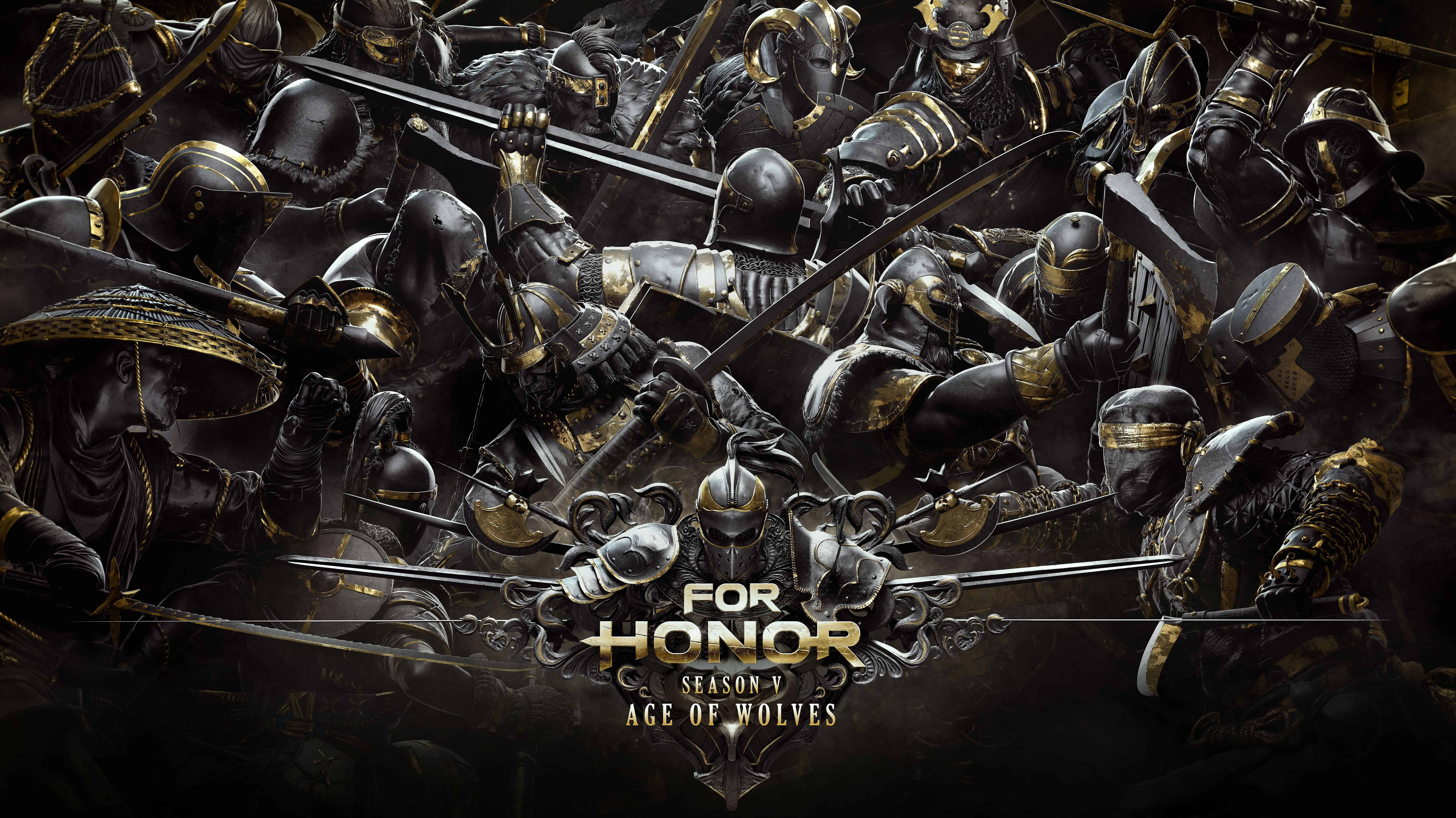 for honor season v age of wolves uhd 8k wallpaper