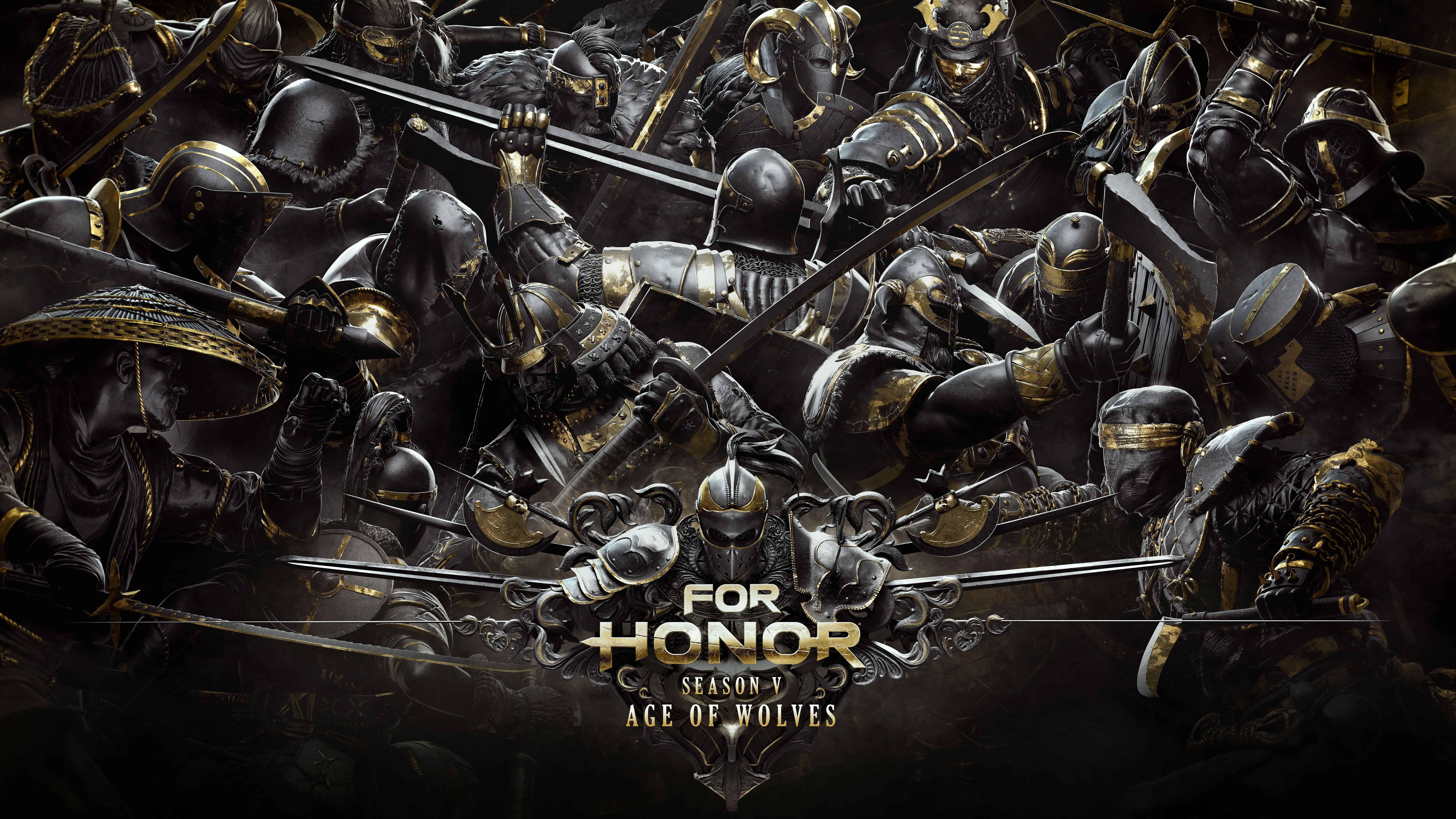 for honor season v age of wolves uhd 8k wallpaper