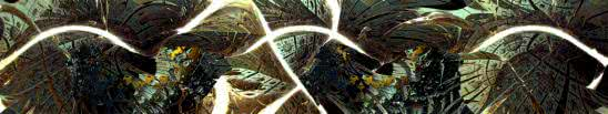 fractal triple monitor wallpaper