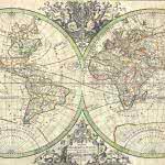 french vintage world map uhd 4k wallpaper