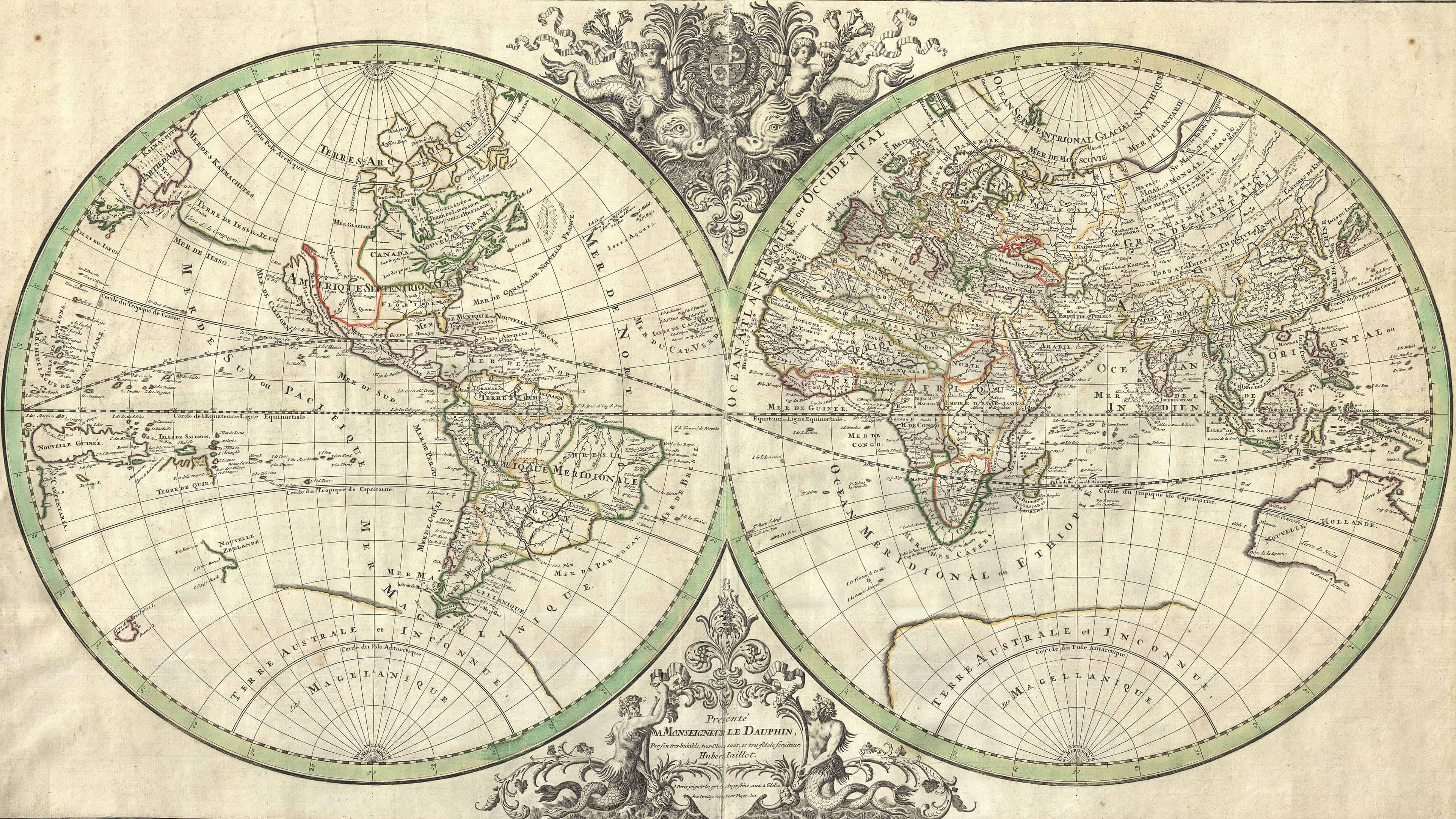 french vintage world map uhd 4k wallpaper