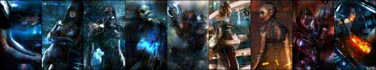 mass effect 3 triple monitor wallpaper