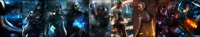 Mass Effect 3 Triple Monitor Wallpaper Pixelz