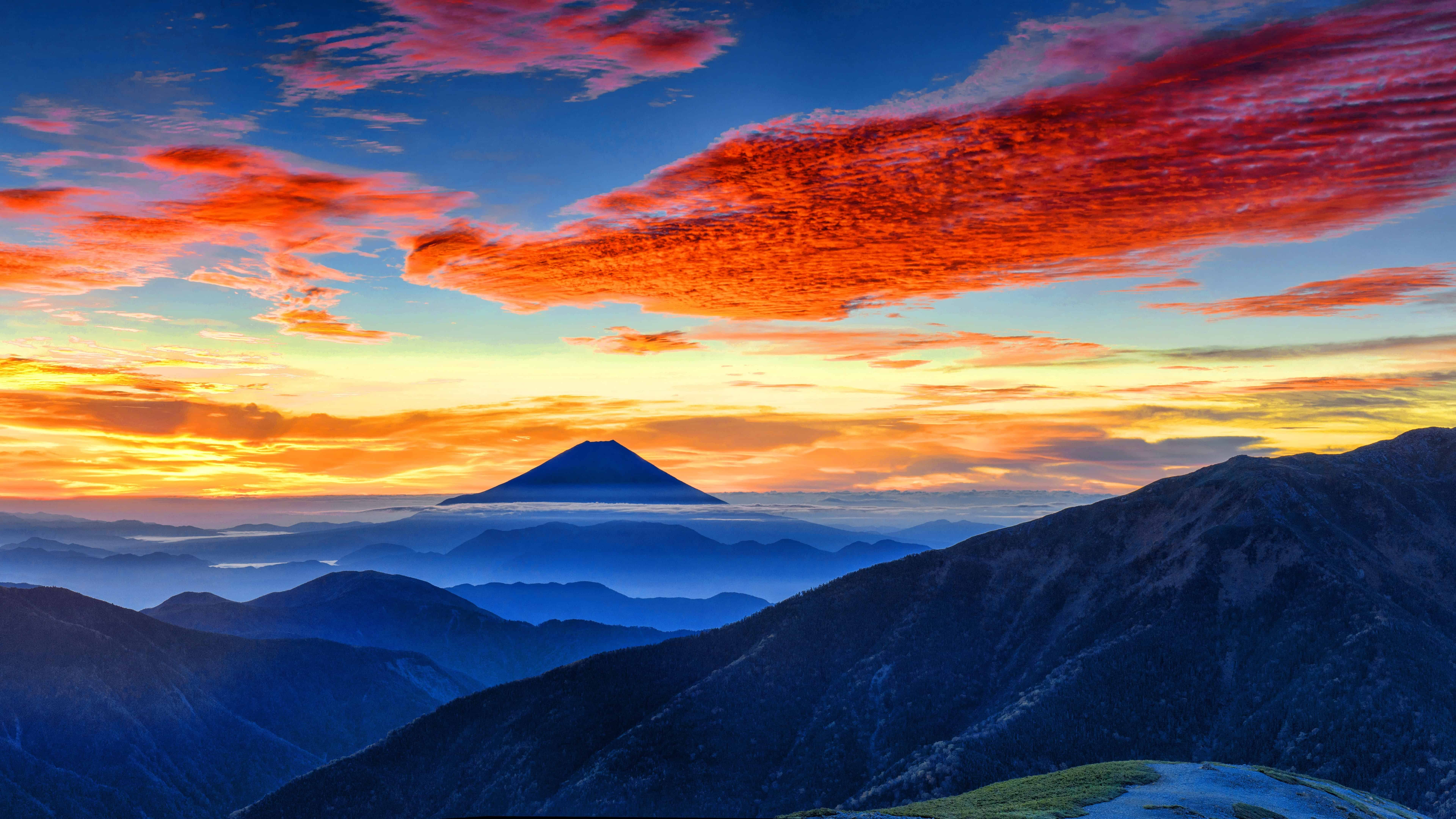 mount fuji hizuoka japan uhd 8k wallpaper