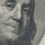 one hundred dollar bill triple monitor wallpaper