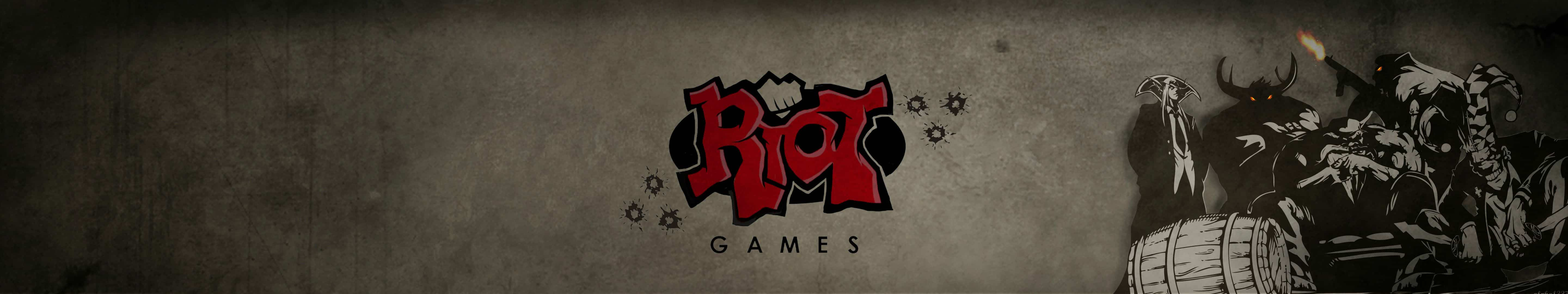 riot games triple monitor wallpaper