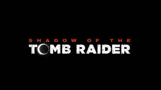 shadow of the tomb raider logo uhd 8k wallpaper