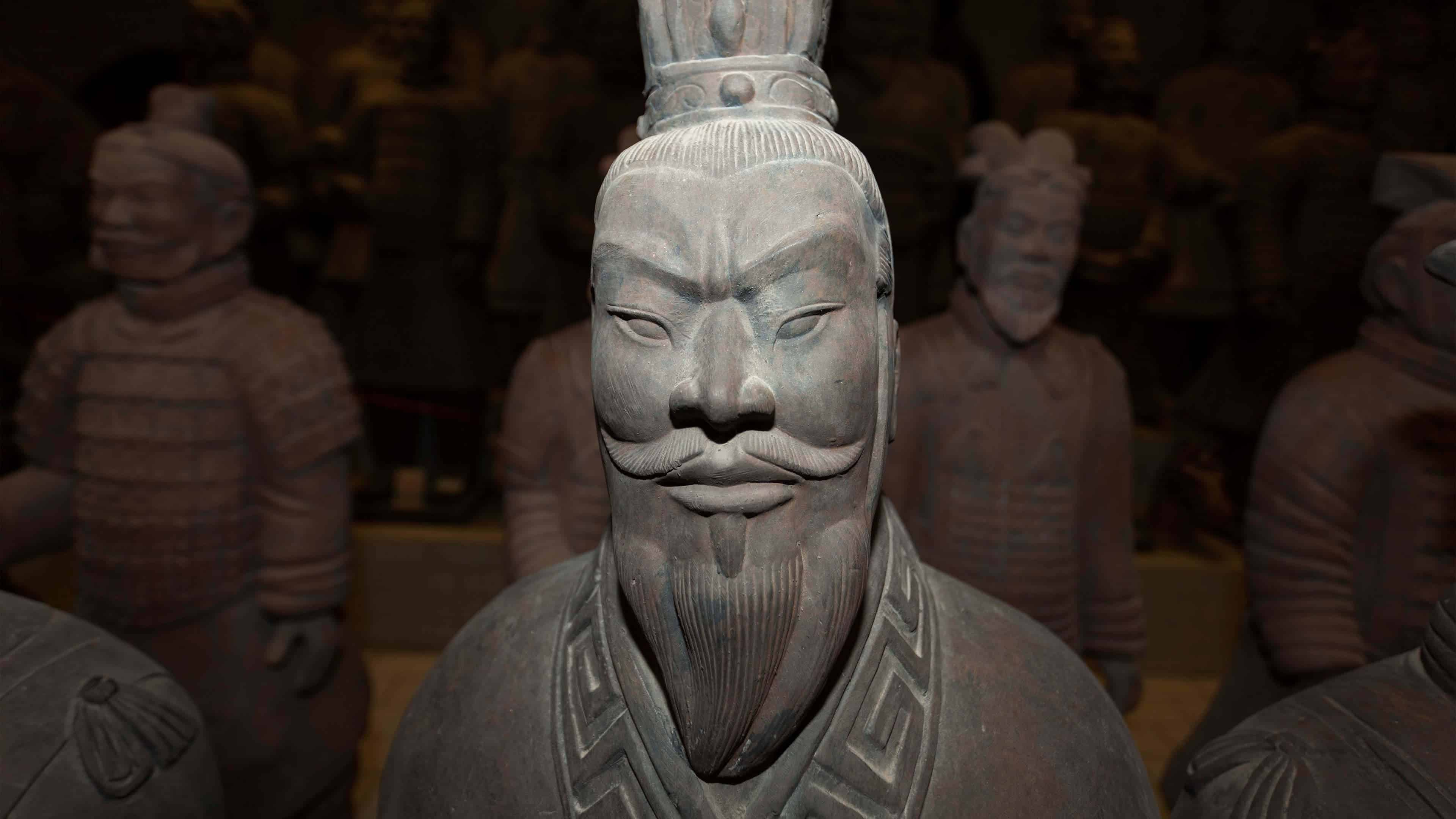 terracotta army statue china uhd 4k wallpaper