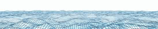 wavy mesh blue triple monitor wallpaper