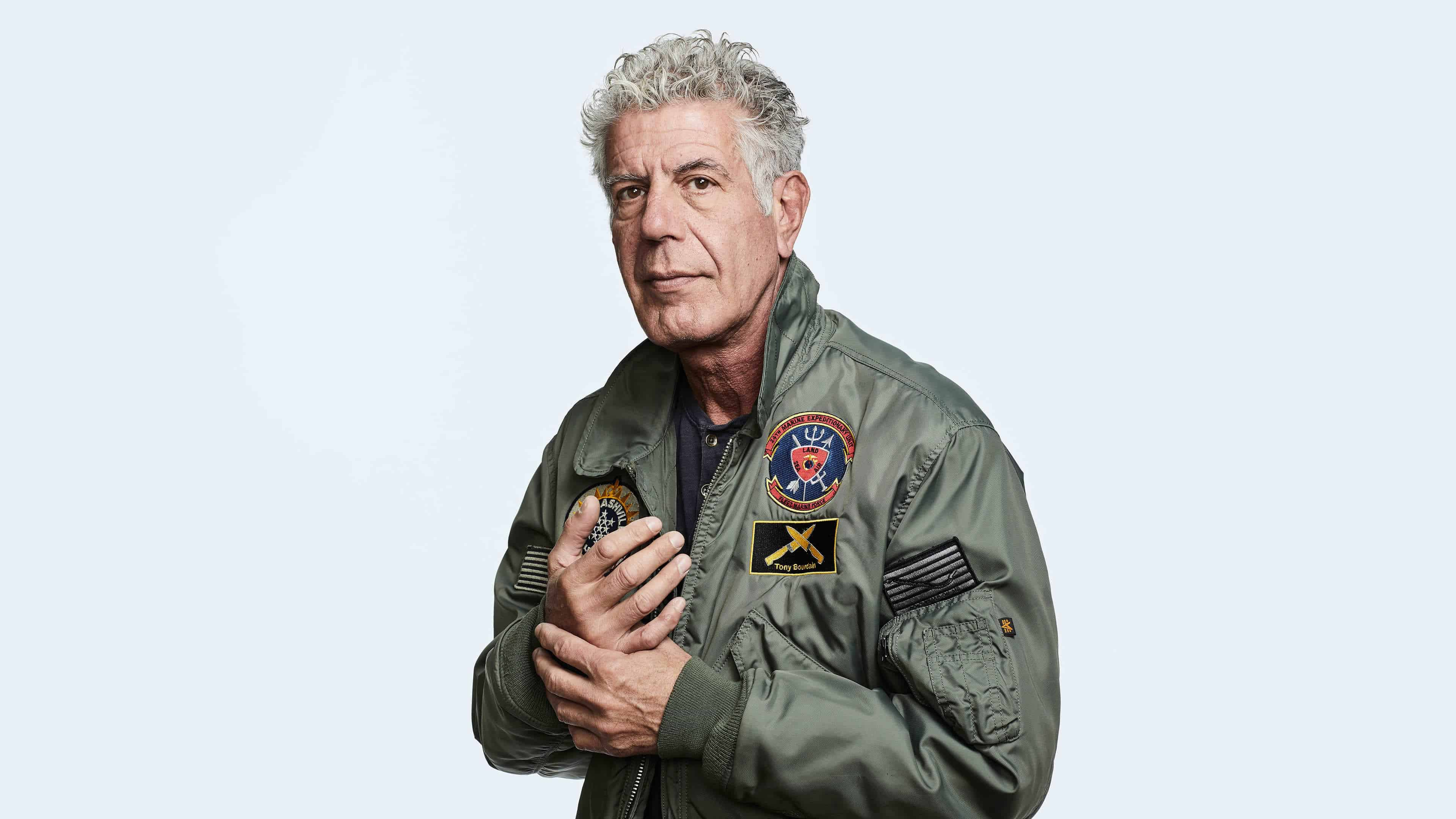 anthony bourdain uhd 4k wallpaper