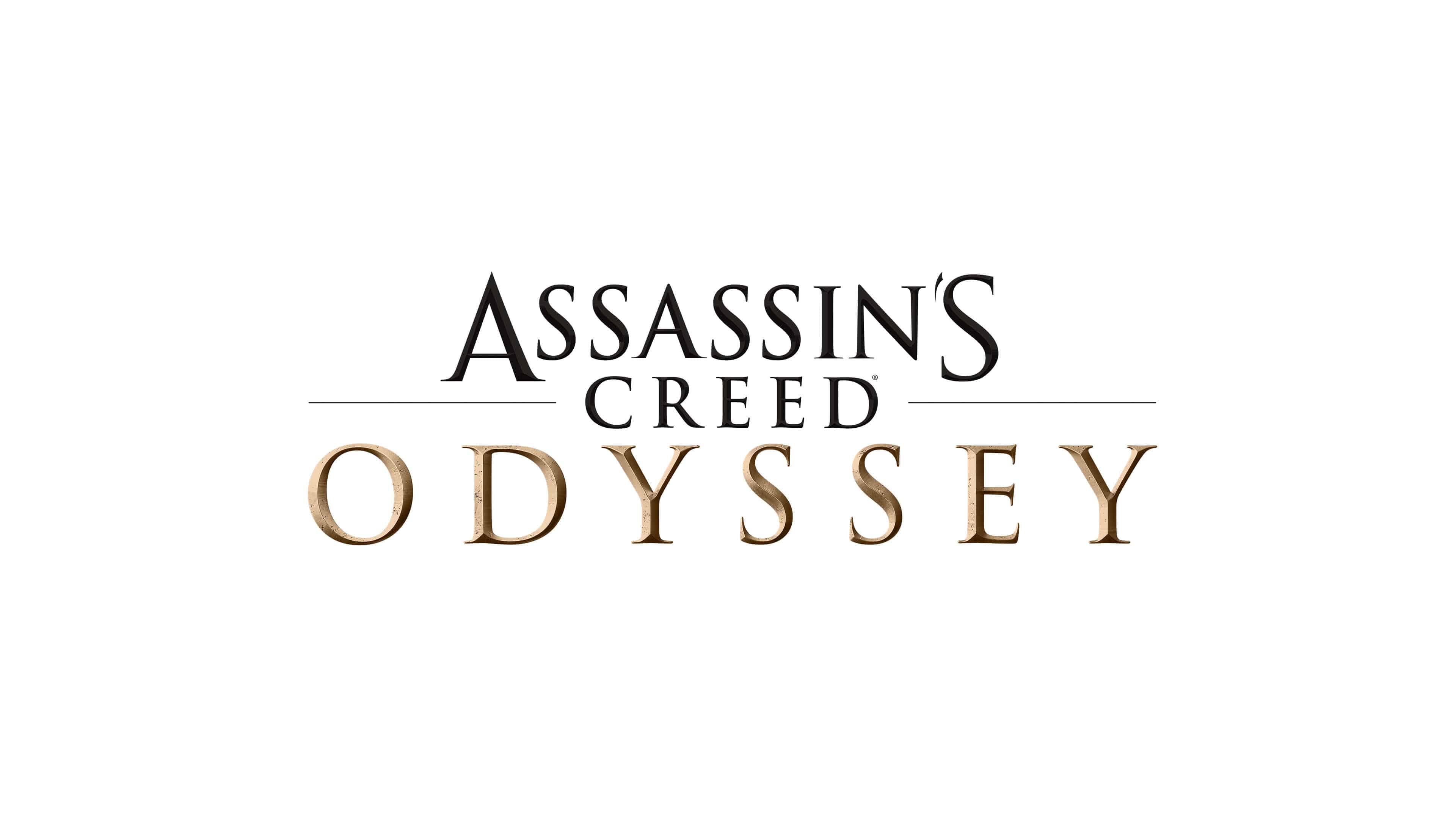Assasins Creed Odyssey Logo Uhd 4k Wallpaper Pixelz Cc
