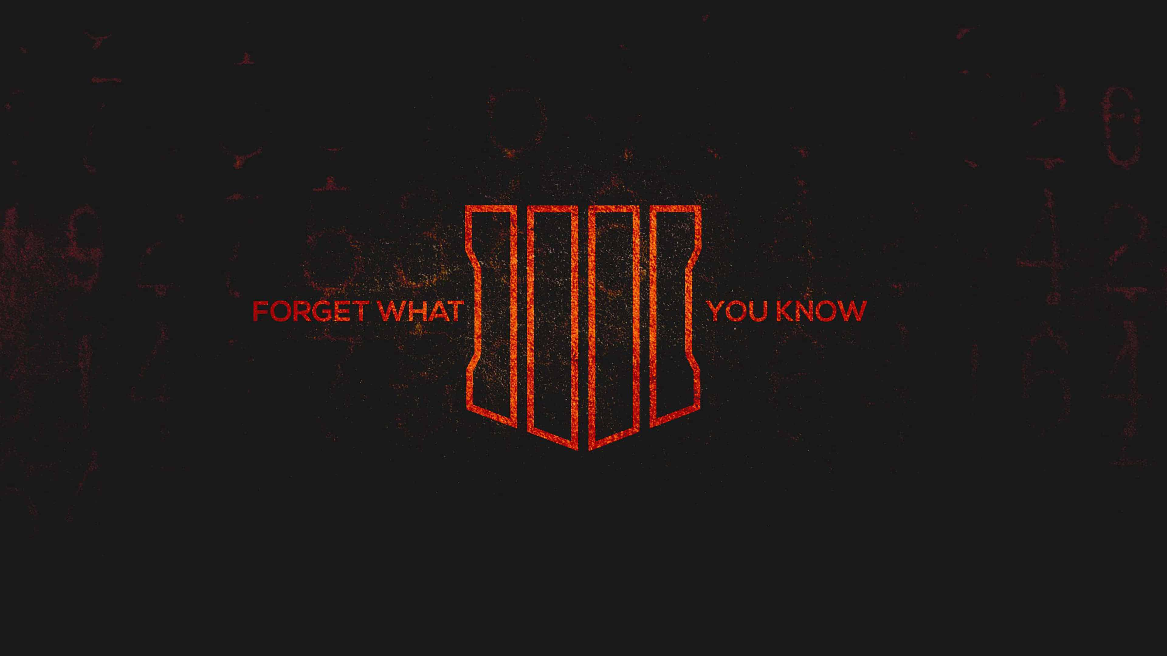 Call Of Duty Black Ops 4 Forget What You Know Uhd 4k Wallpaper Pixelz