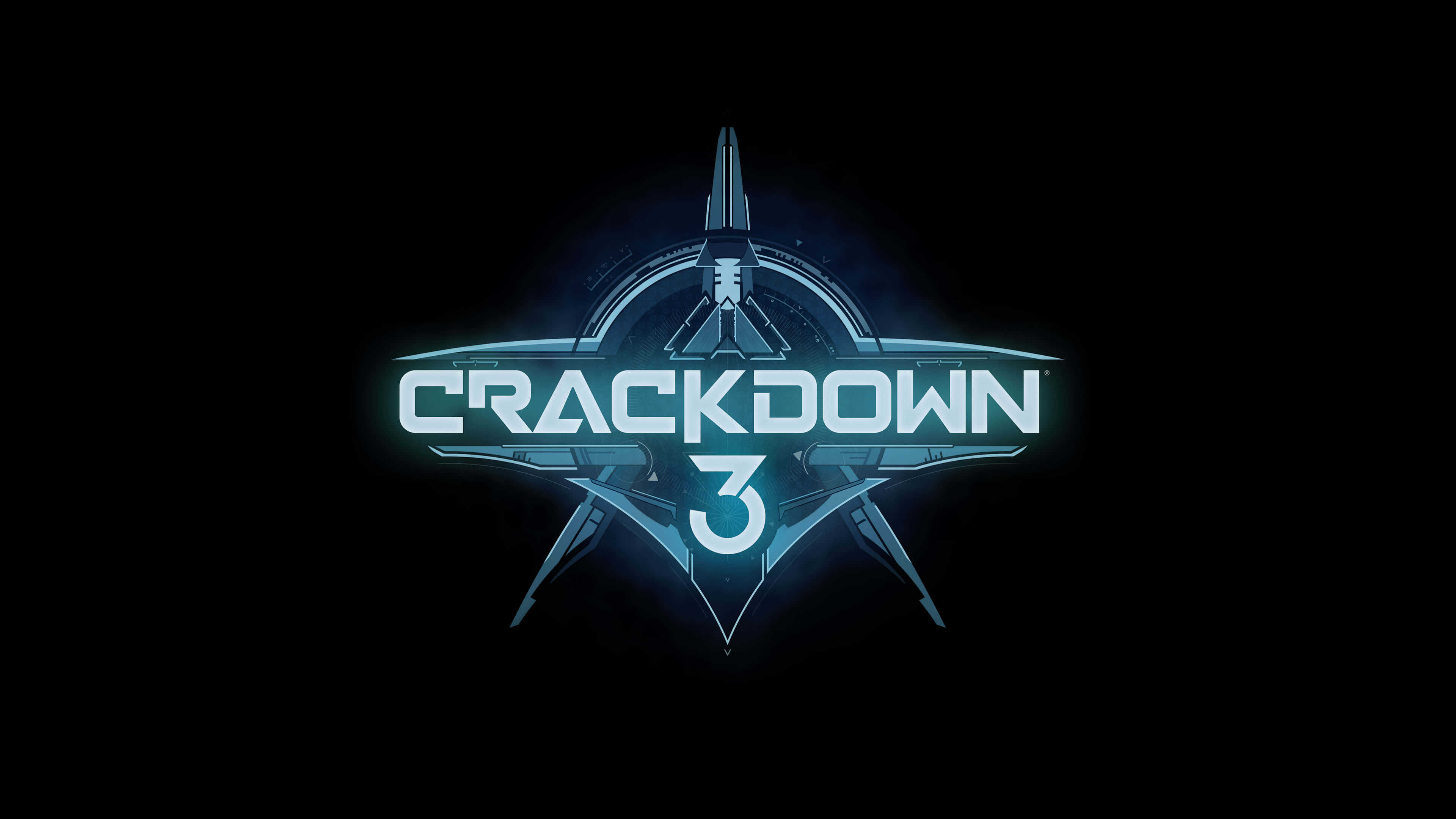 crackdown 3 logo uhd 4k wallpaper