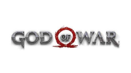 god of war logo uhd 4k wallpaper