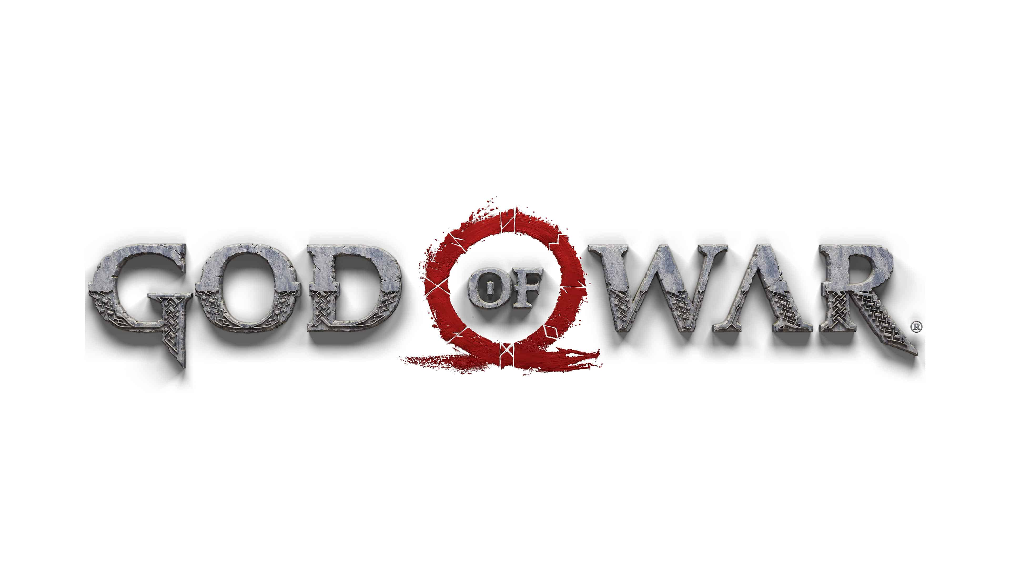 God Of War Logo Uhd 4k Wallpaper Pixelz