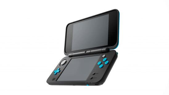 nintendo 2ds xl black and turquoise uhd 4k wallpaper
