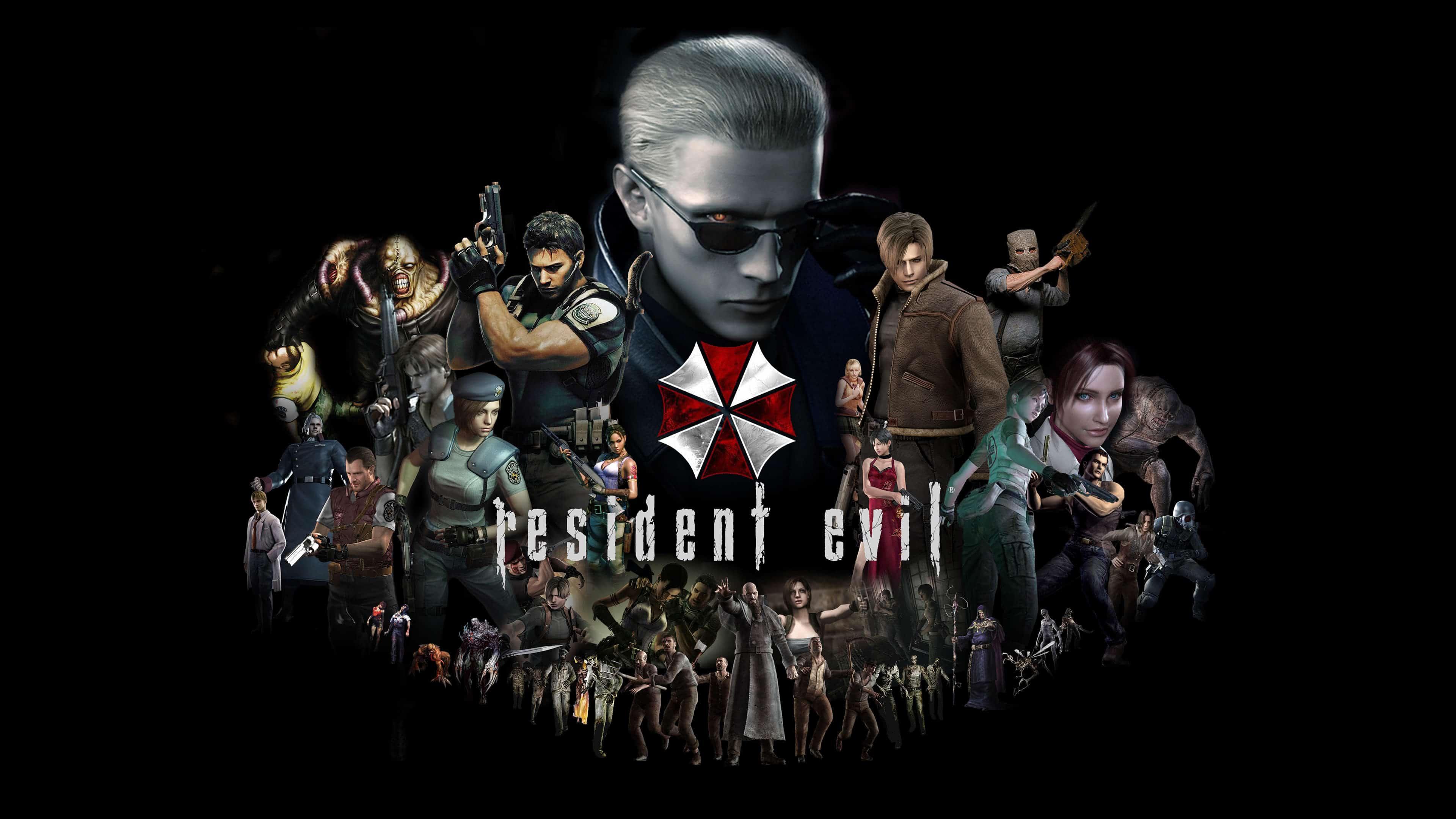 Resident Evil Characters Uhd 4k Wallpaper Pixelz