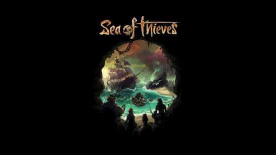 sea of thieves logo uhd 4k wallpaper