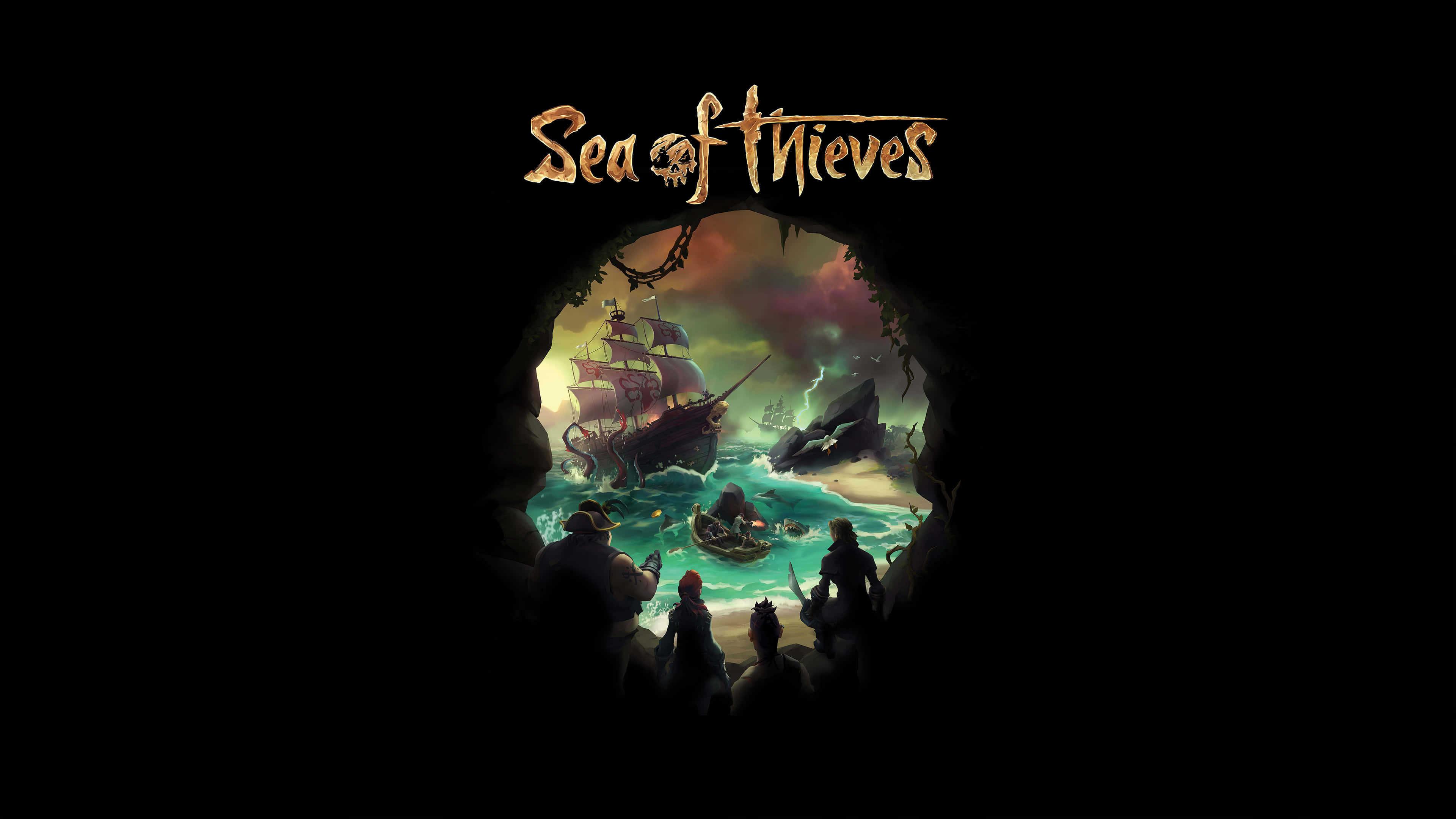 New Trucks 2018 >> Sea Of Thieves Logo UHD 4K Wallpaper | Pixelz