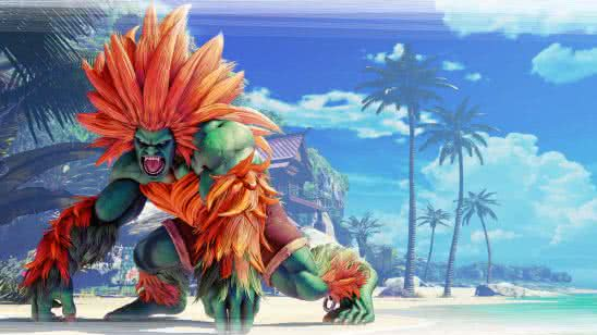 street fighter v blanka uhd 8k wallpaper