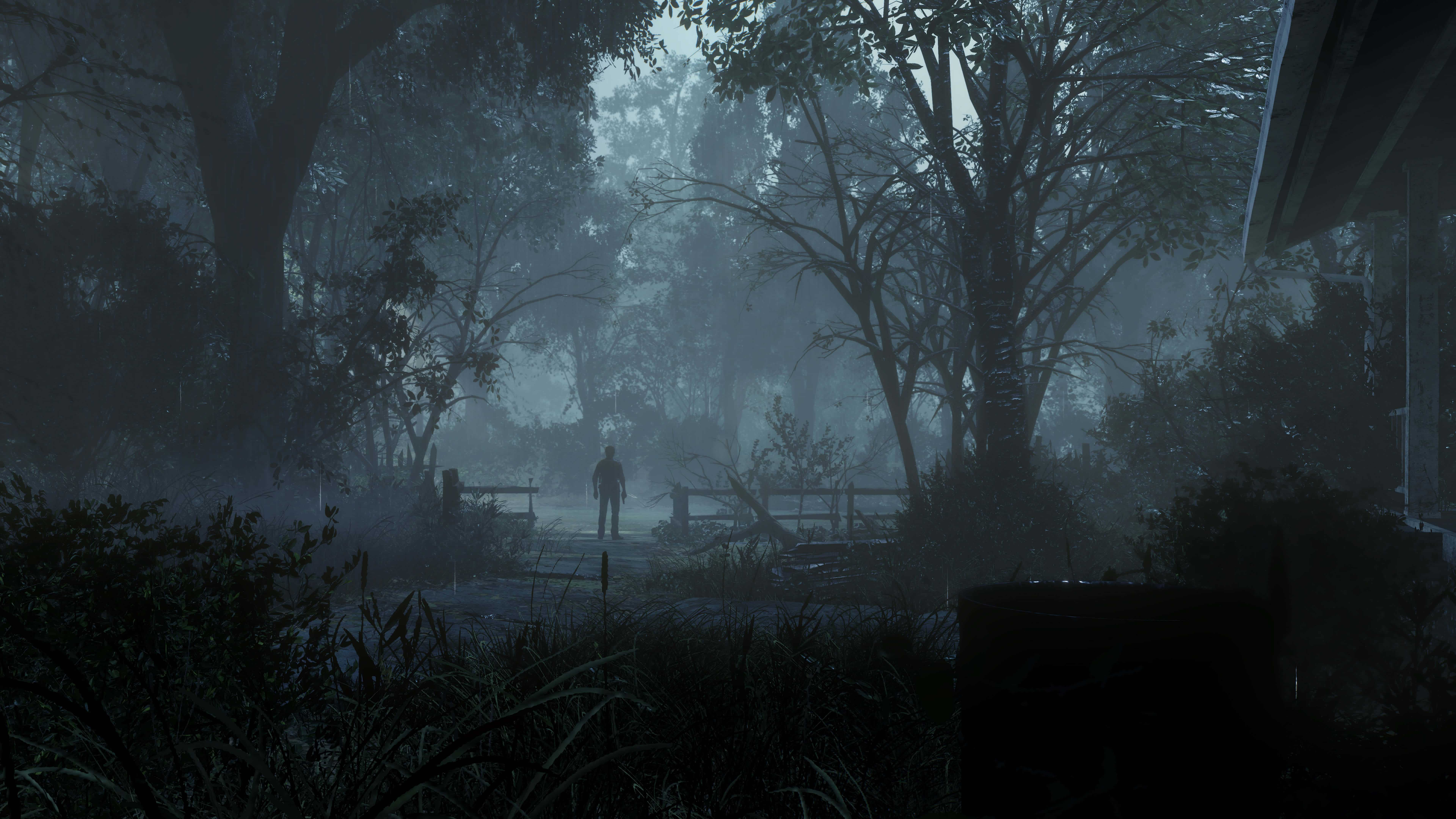 the evil within 2 forest uhd 8k wallpaper