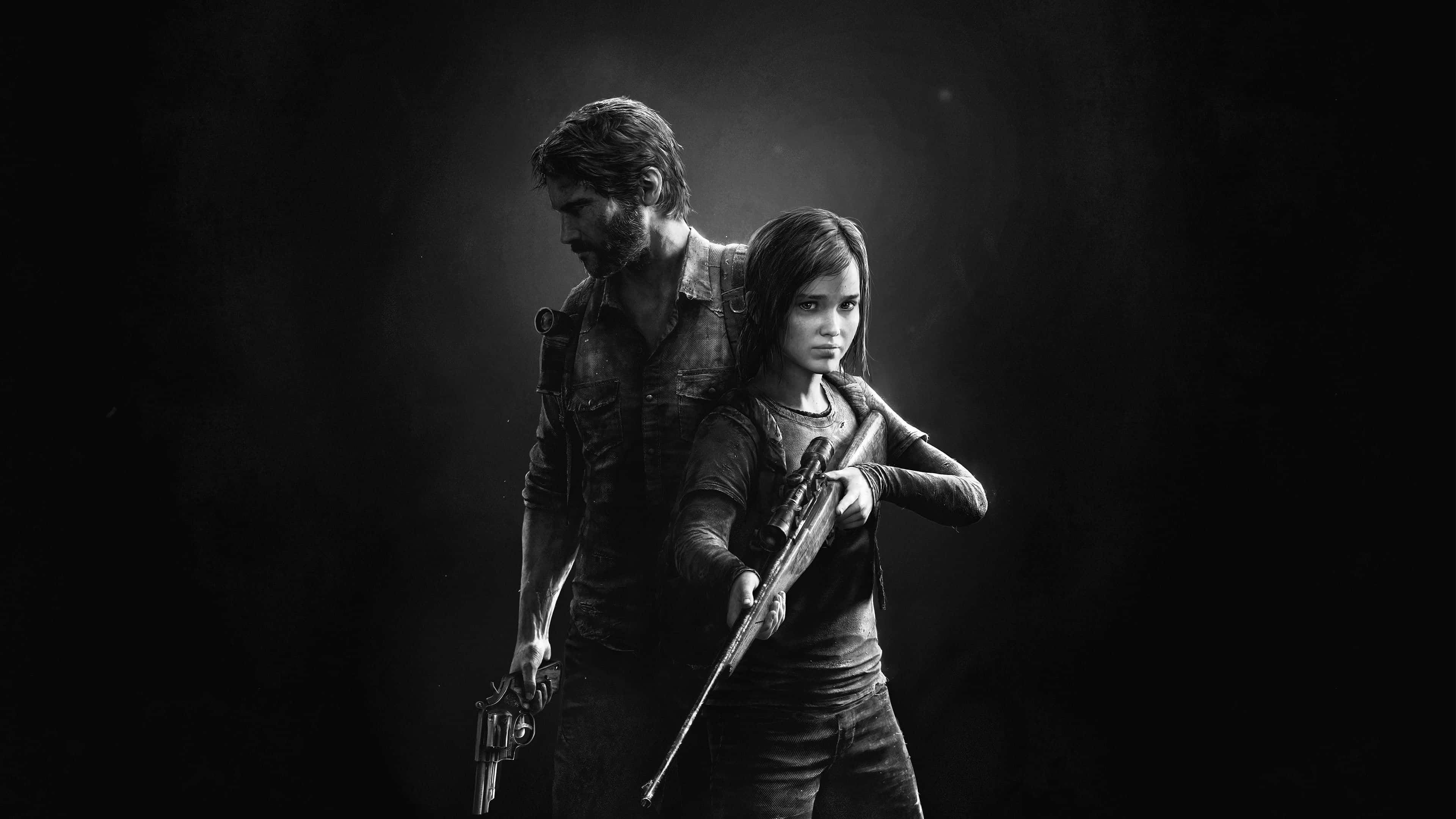 the last of us ellie and joel uhd 4k wallpaper