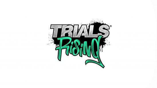 trials rising logo uhd 4k wallpaper