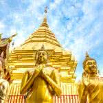 Wat Phra That Doi Suthep Buddhist Temple Chiang Mai Thailand