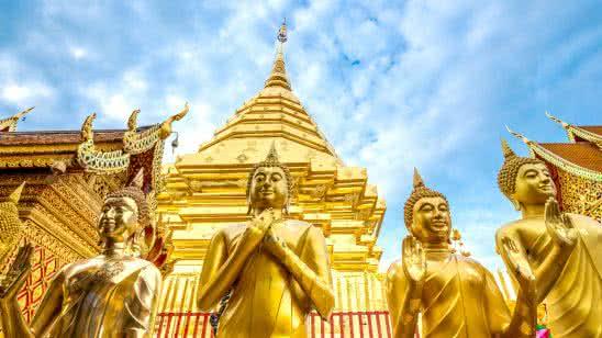 wat phra that doi suthep buddhist temple chiang mai thailand uhd 4k wallpaper