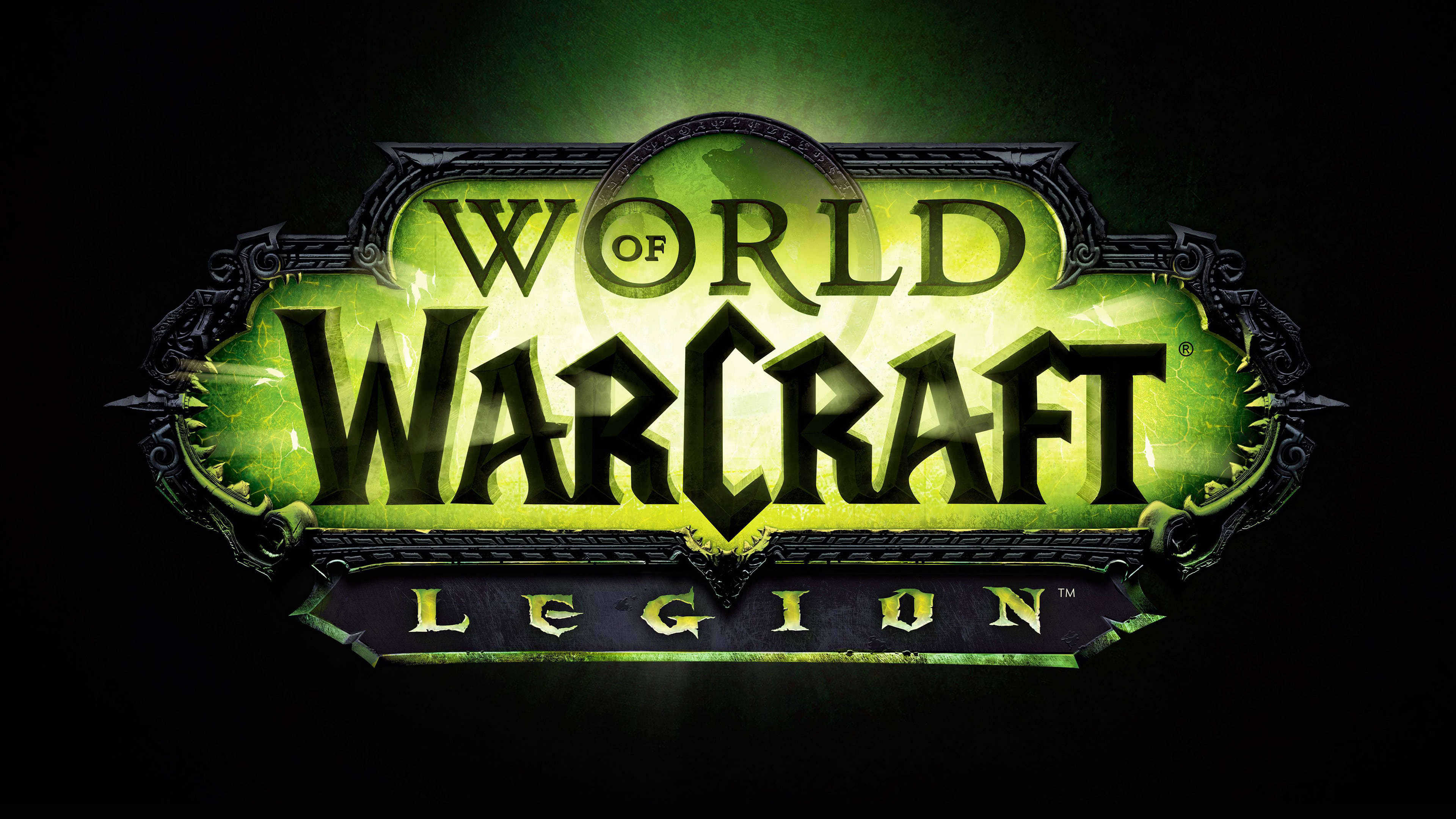 World Of Warcraft Legion Logo Uhd 4k Wallpaper Pixelz