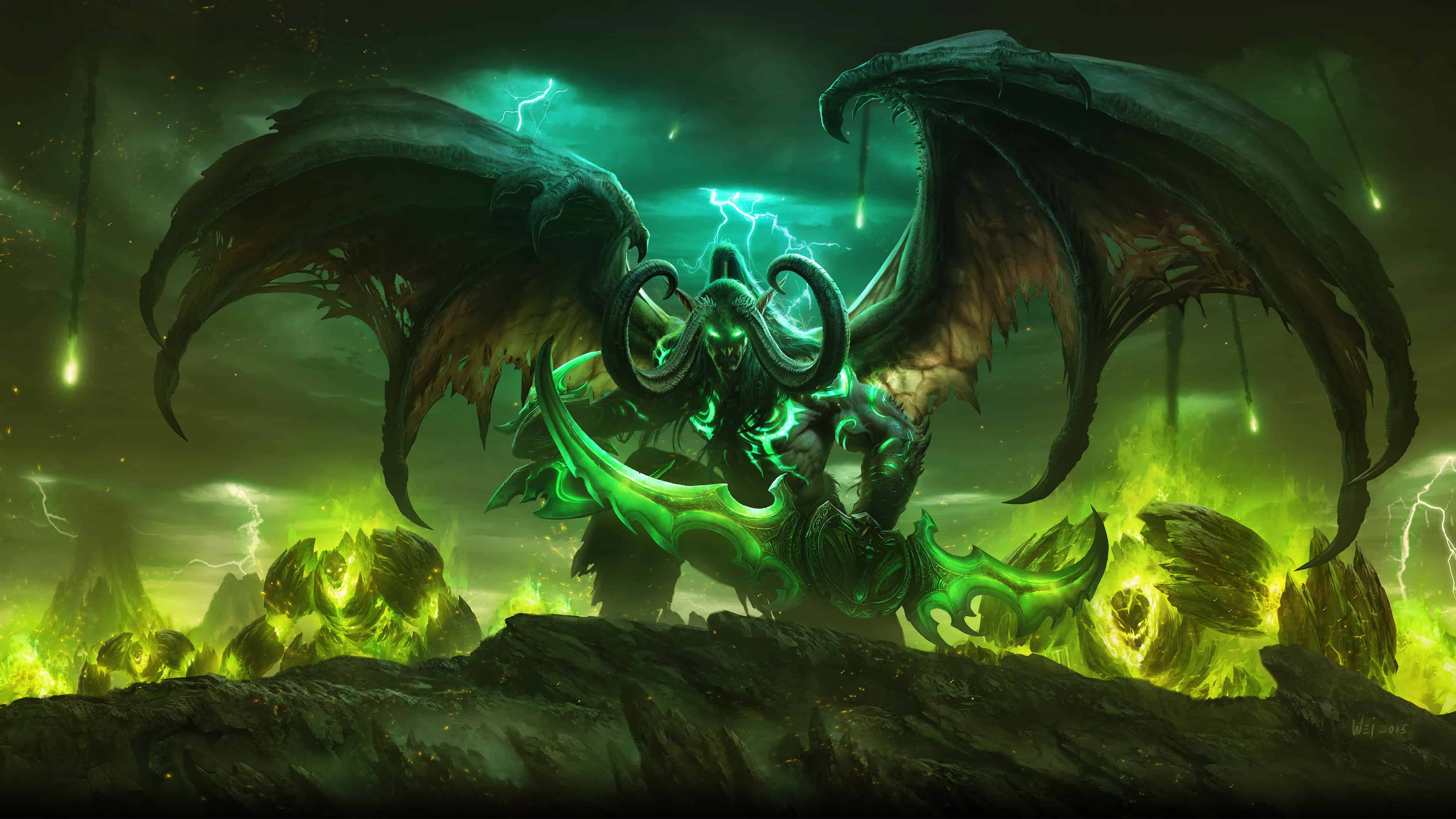 World Of Warcraft Legion Uhd 4k Wallpaper Pixelz