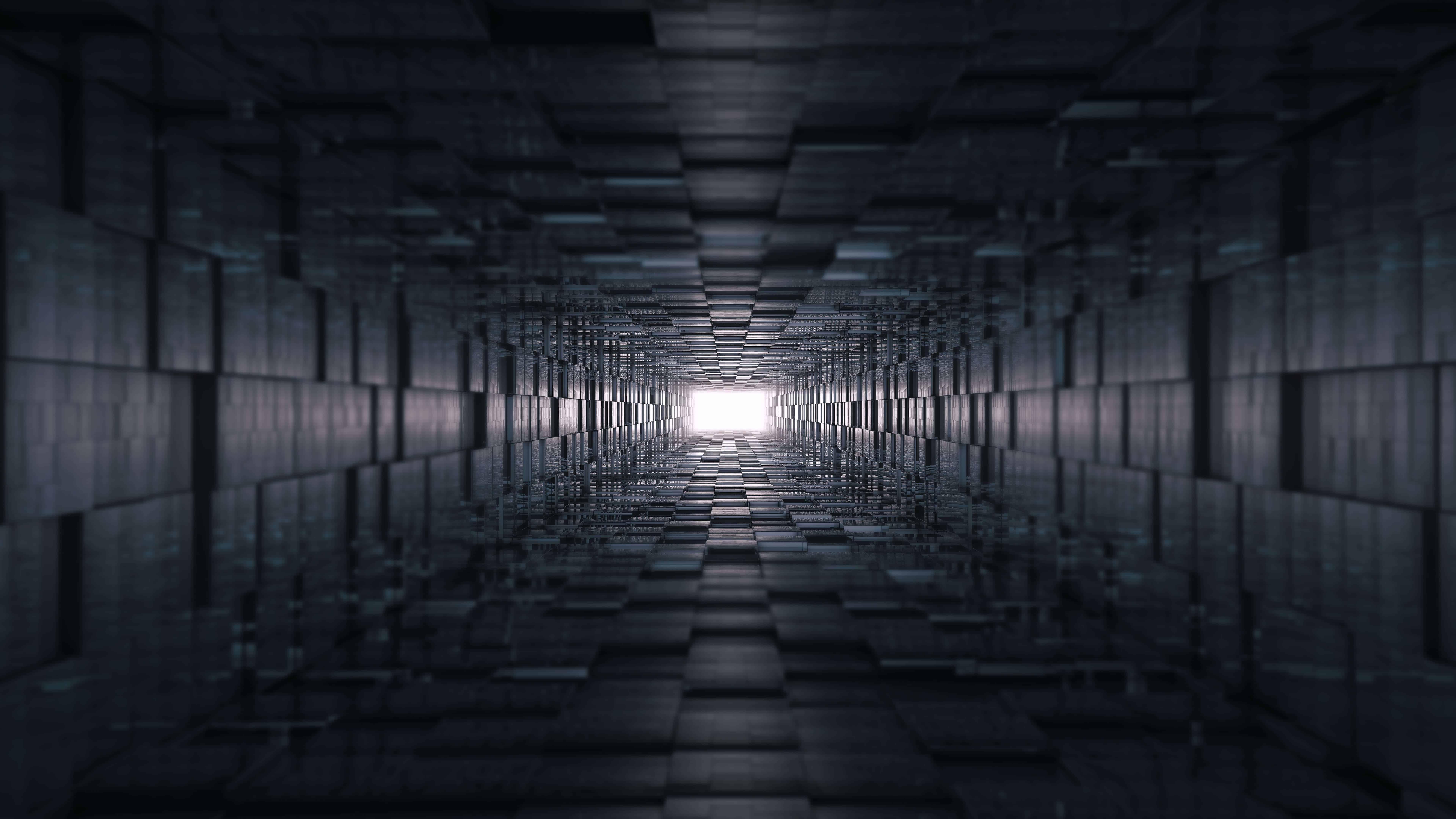 Abstract Dark Geometry UHD 8K Wallpaper | Pixelz