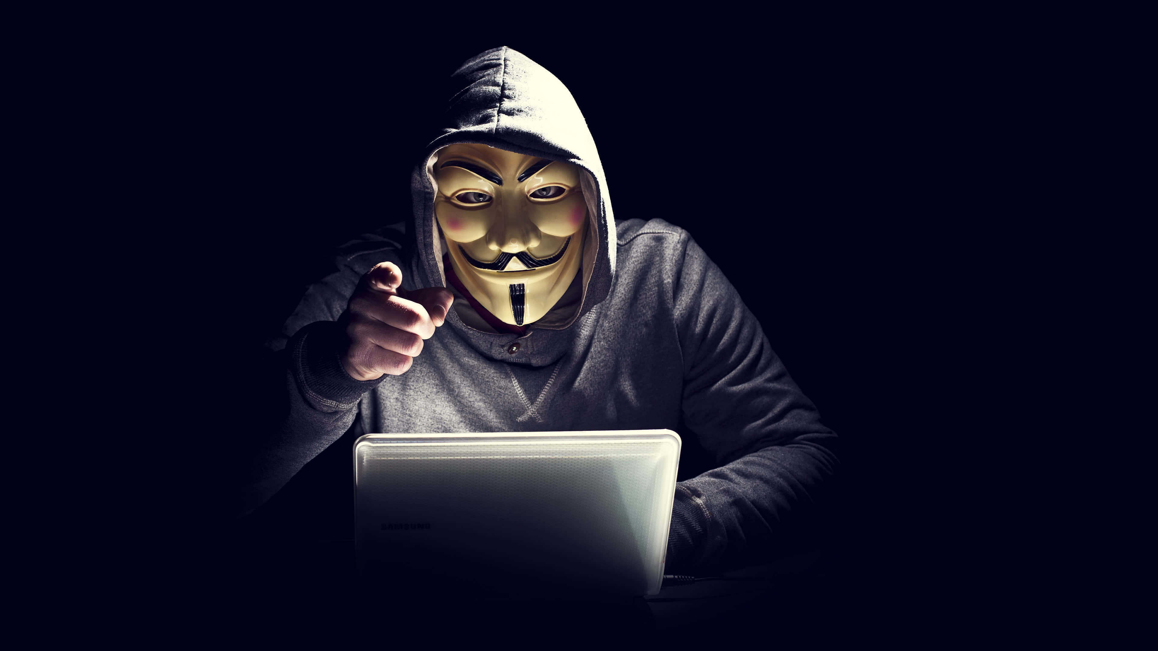 Anonymous Hacker Uhd 4k Wallpaper Pixelz