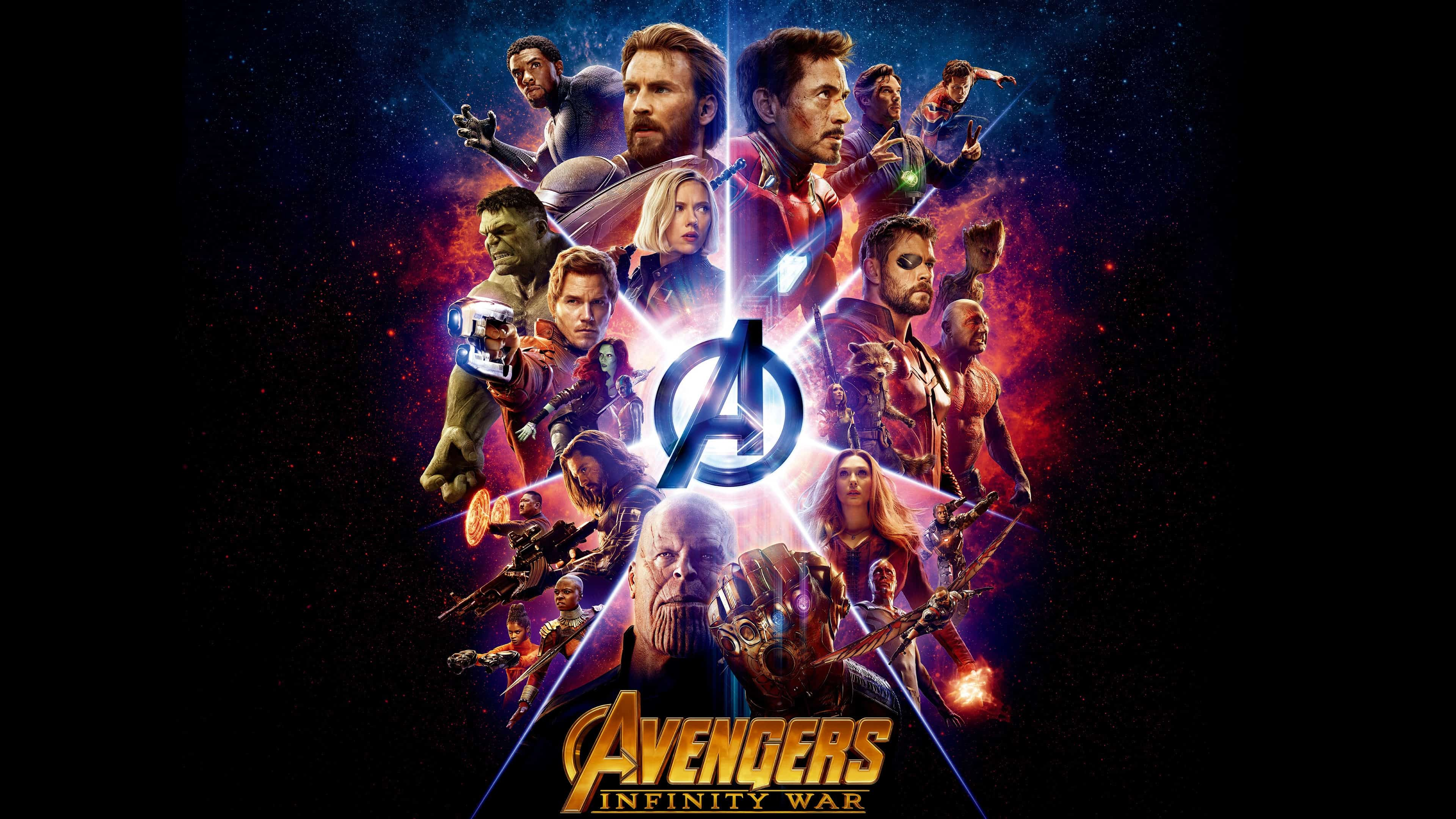 avengers infinity war poster uhd 4k wallpaper