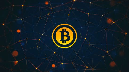 bitcoin logo uhd 4k wallpaper