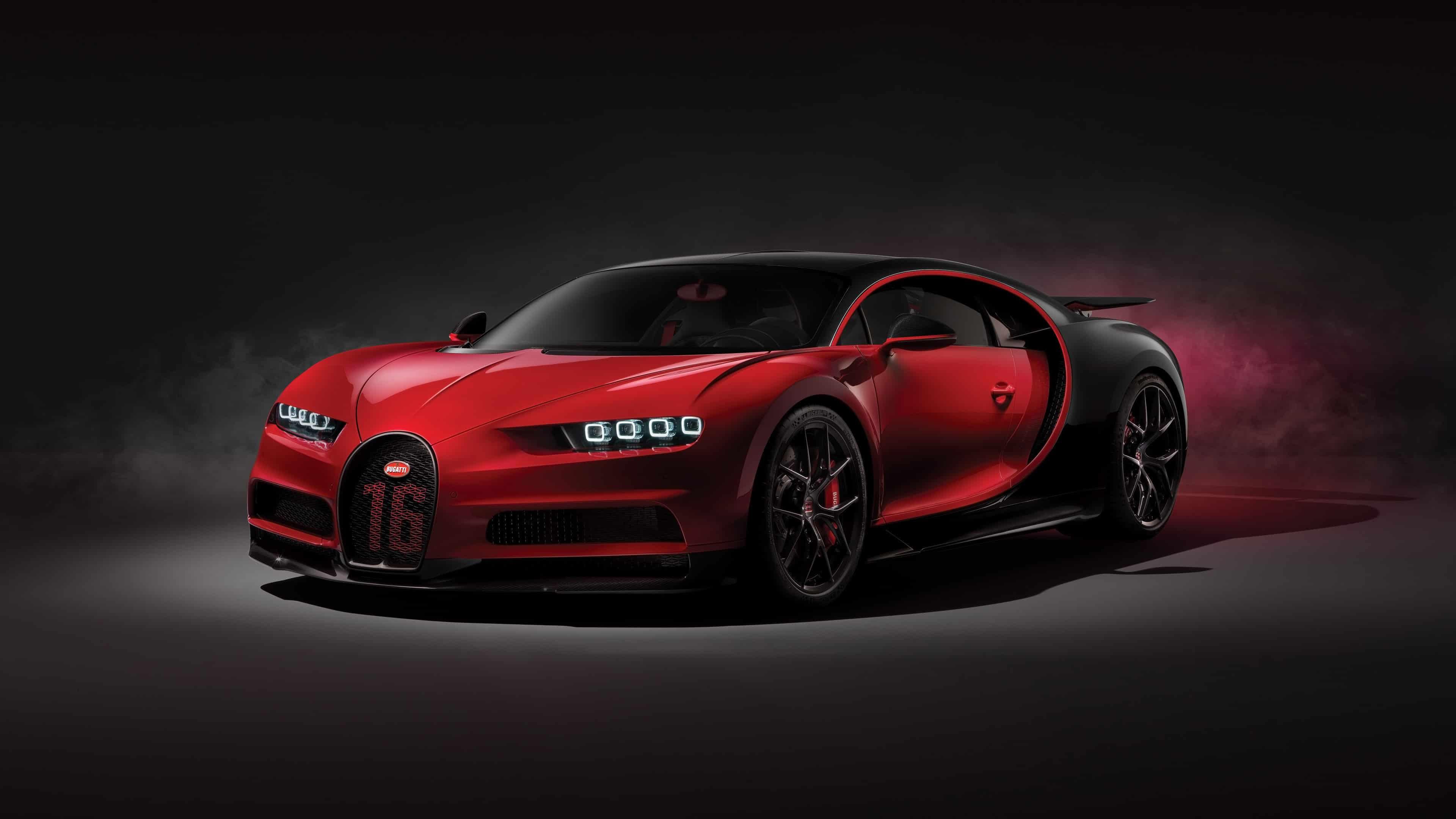 bugatti chiron sport red uhd 4k wallpaper