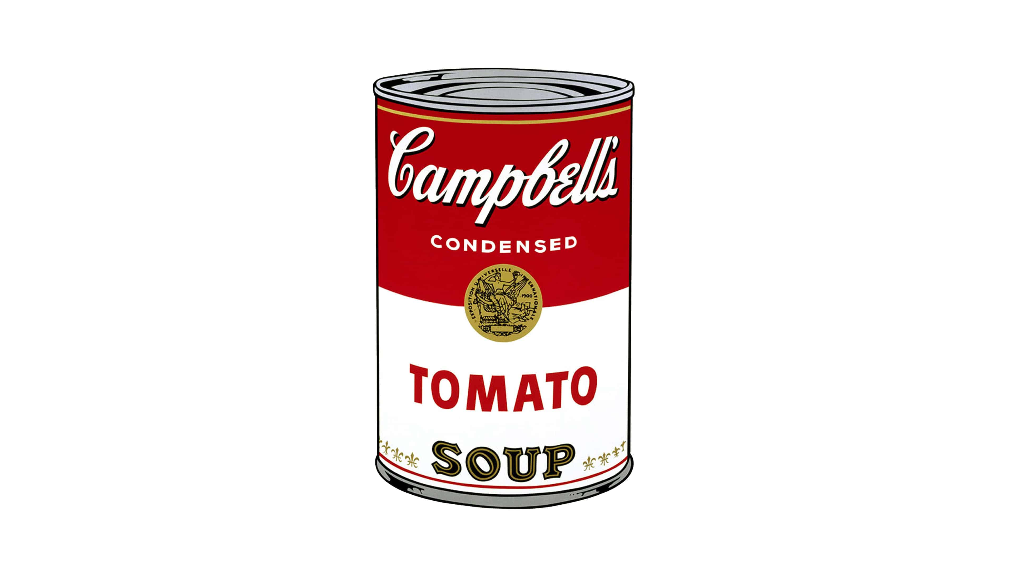 campbells soup can andry warhol uhd 4k wallpaper