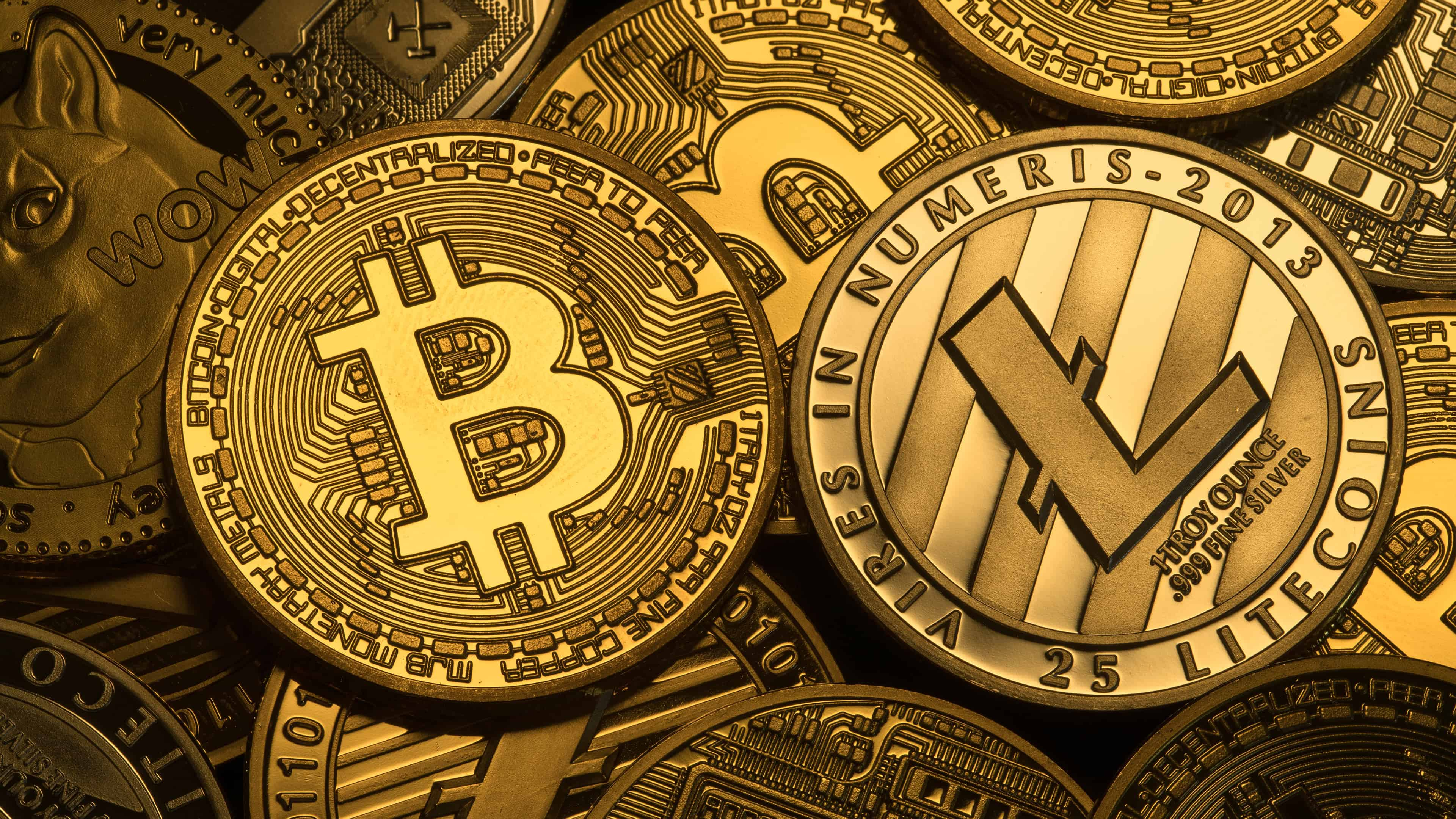 Cryptocurrency Coins UHD 4K Wallpaper - Pixelz.cc