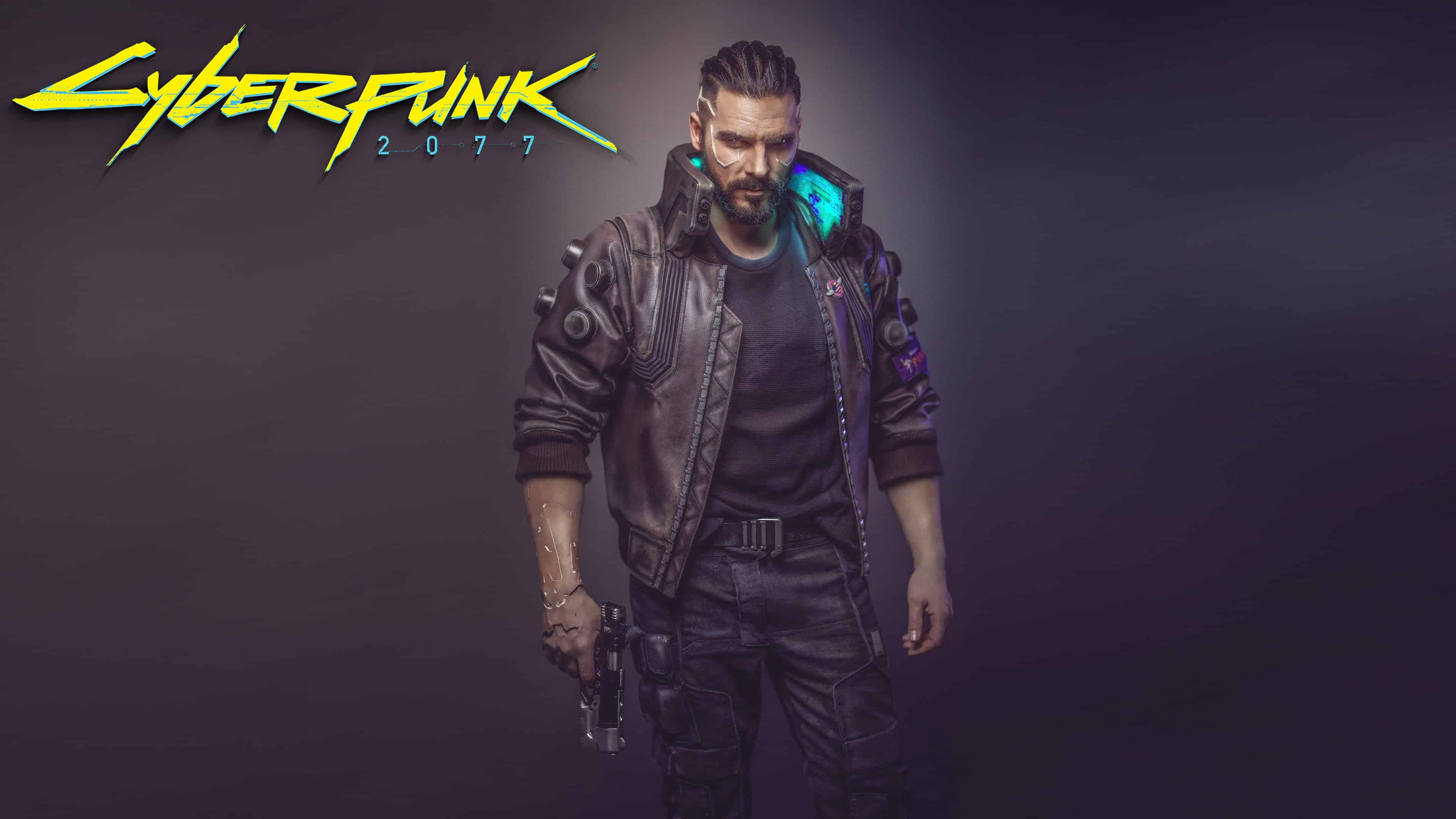 cyberpunk 2077 male uhd 4k wallpaper