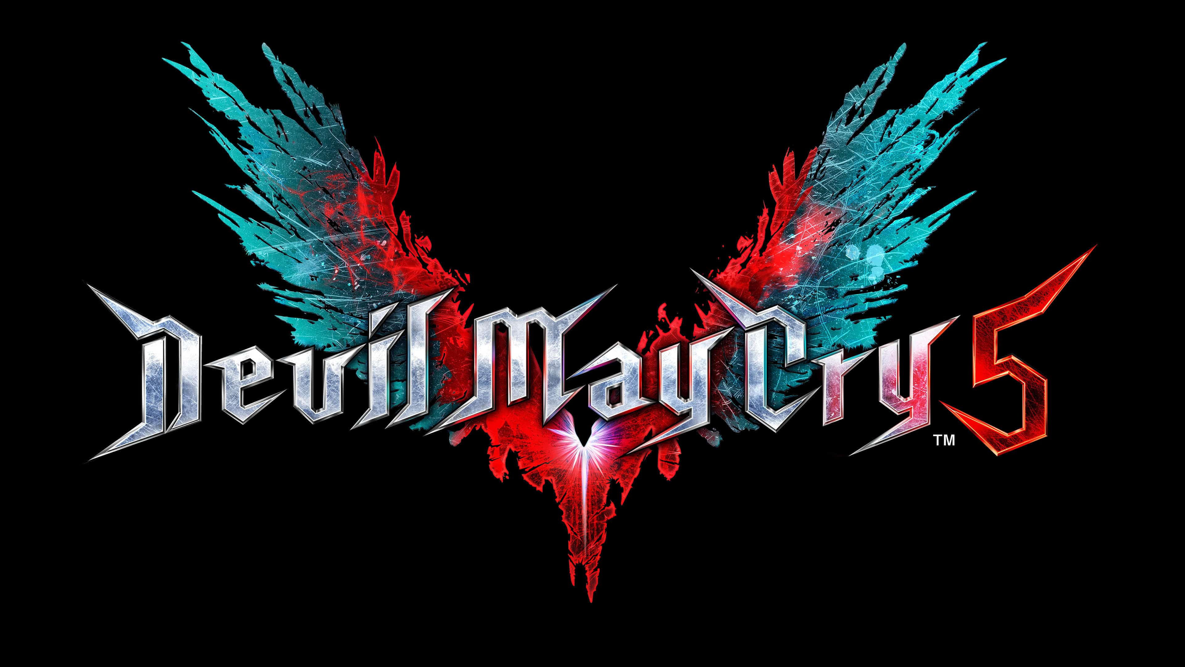 devil may cry 5 logo uhd 4k wallpaper