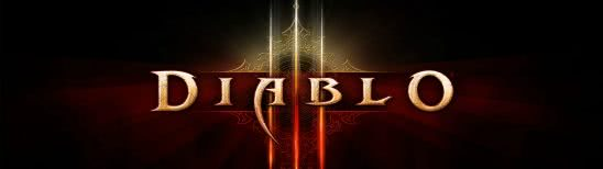 diablo 3 logo dual monitor wallpaper
