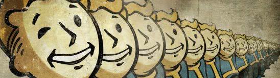 fallout 4 vault boys dual monitor wallpaper
