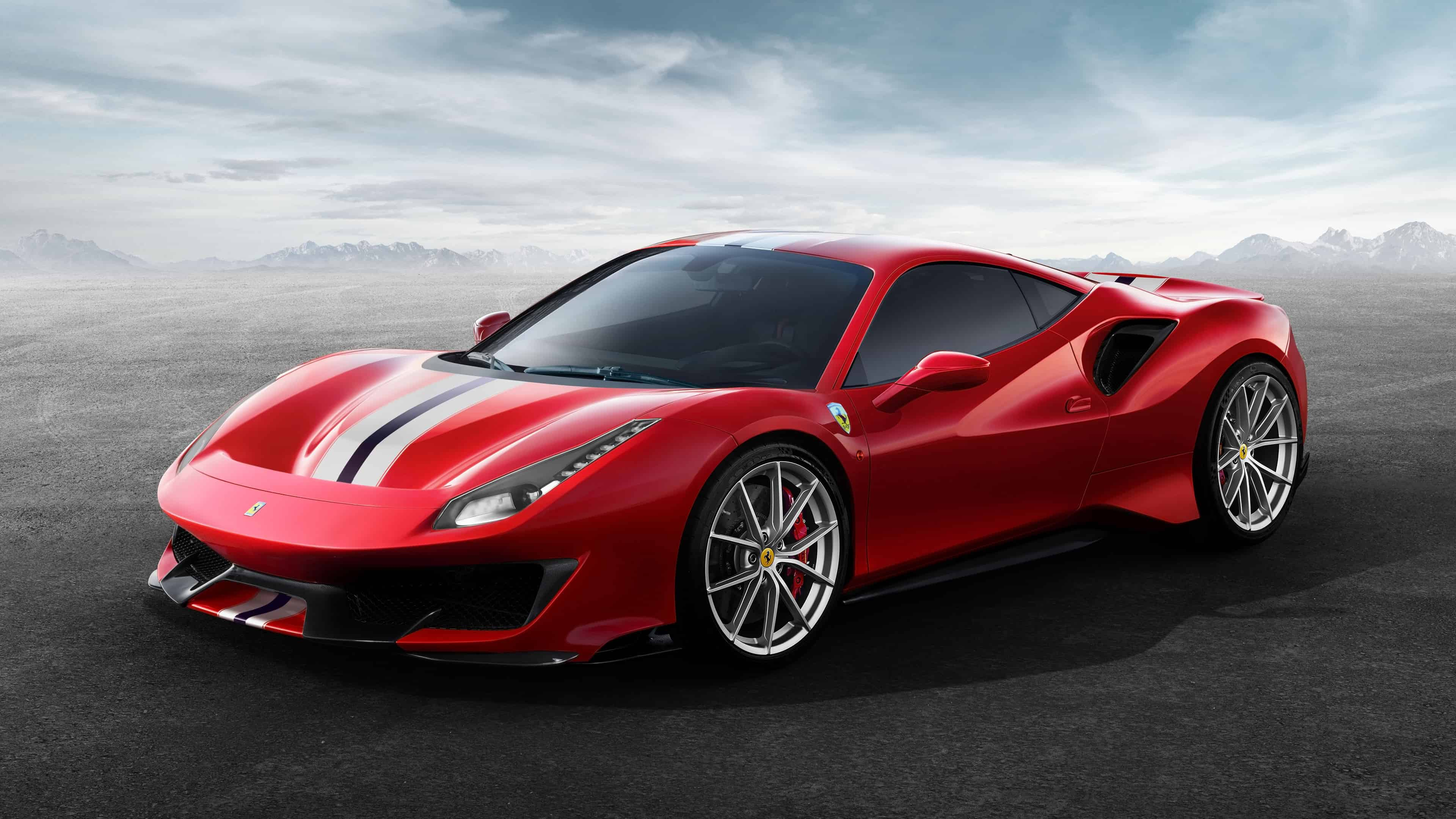 Ferrari 488 Pista Red Uhd 4k Wallpaper Pixelz