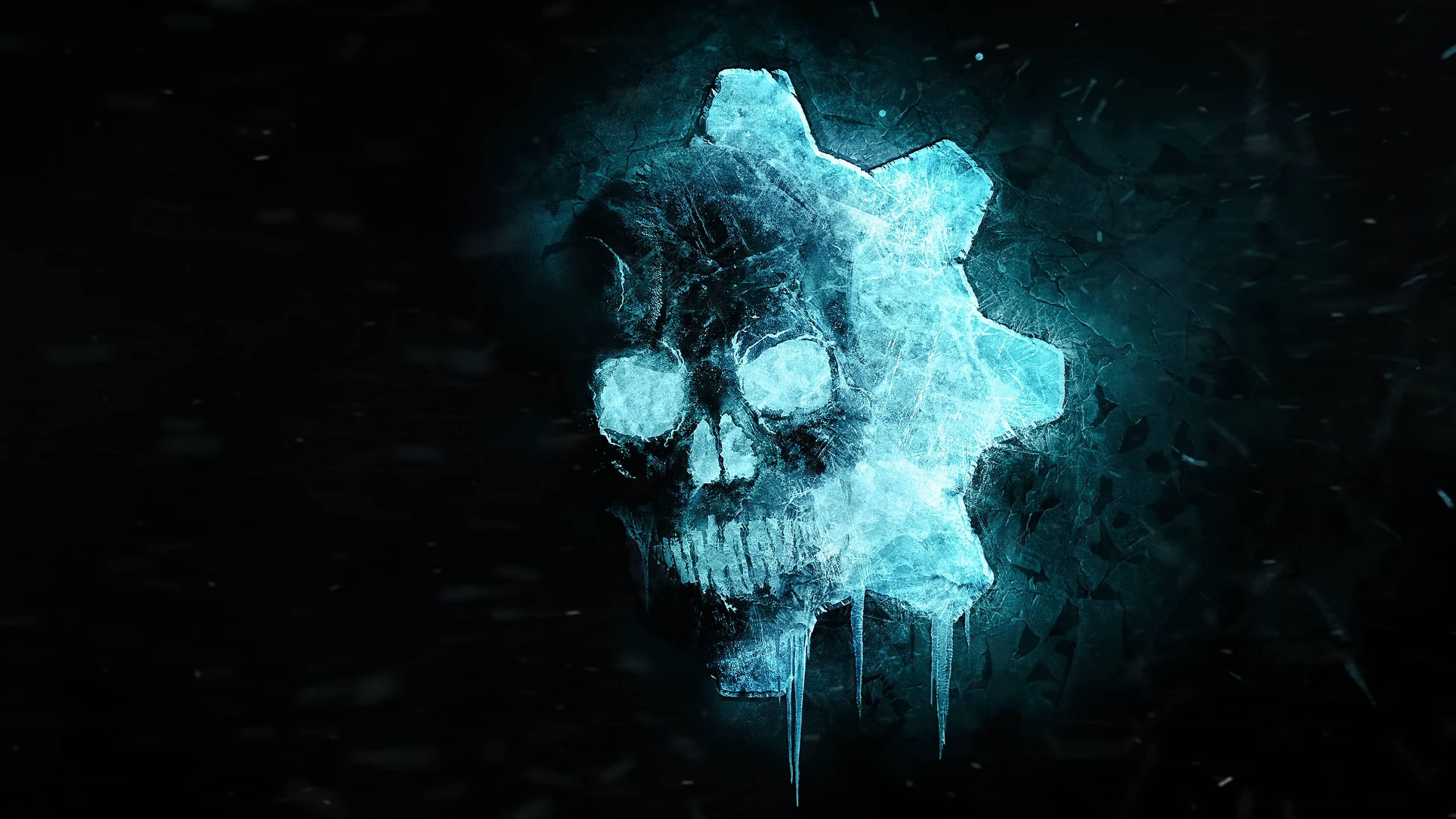 Gears Of War 5 Logo Uhd 4k Wallpaper Pixelz